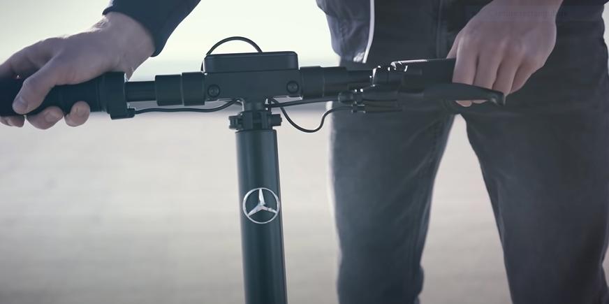 Mercedes sort sa propre trotinette électrique, «eScooter»