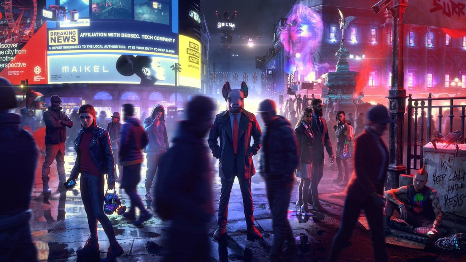 Le futur de Watch Dogs Legion n'est pas si dystopique: la solution, ce sont les joueurs et joueuses