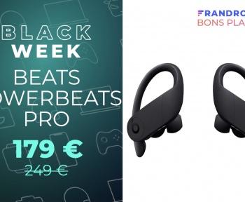 Économisez 70 € sur le prix des excellents écouteurs sans fil Powerbeats Pro