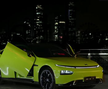 Xpeng dévoile sa P7 Wing, concurrente chinoise à peine voilée de la Tesla Model S