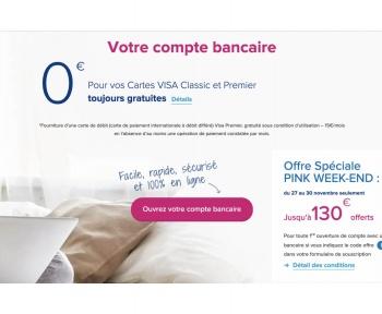 La prime de 130 euros est de retour chez Boursorama Banque