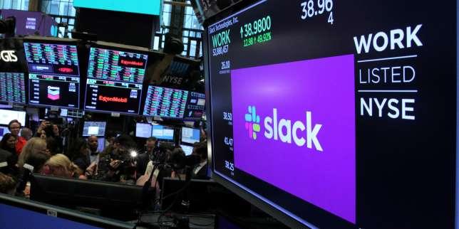 Le géant informatique Salesforce achète la messagerie Slack pour presque 23milliards d'euros