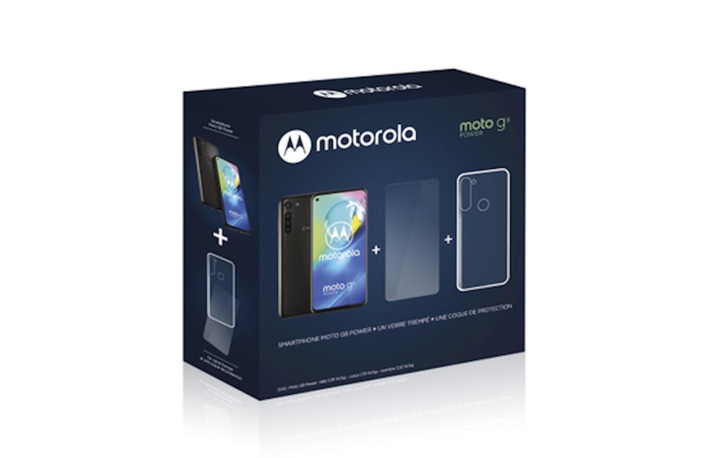 Seulement 159 euros pour le Motorola G8 Power vendu avec des protections