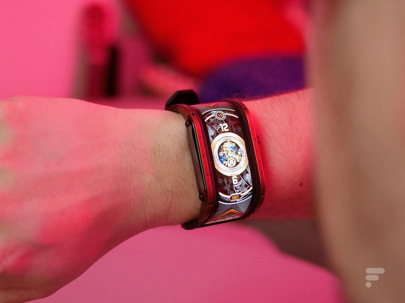 Test de la Nubia Watch: une montre très originale, mais parfaitement inutile