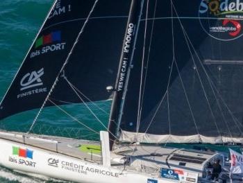 Vendée Globe : Le trio de tête n'a pas bougé, Le Cam au pied du podium