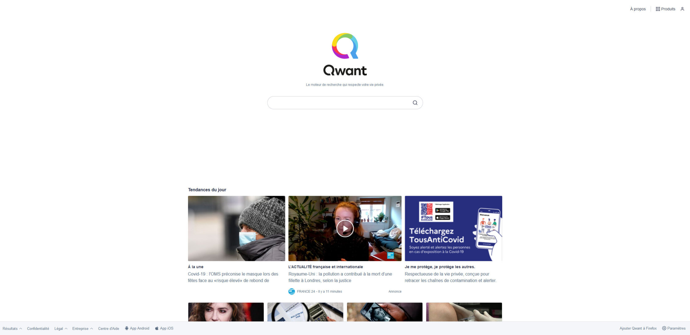 Qwant ferme l'accès à son moteur de recherche dans certains pays