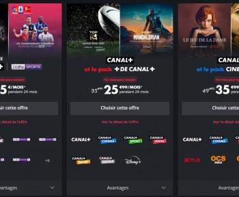 Canal+: comment fonctionne Netflix, OCS et Disney+ dans l'application MyCanal