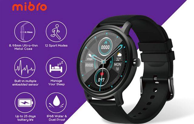 Cette montre connectée compatible iOS et Android ne vous coûtera que 21 €