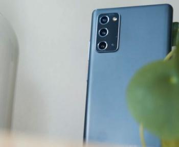 Le Samsung Galaxy Note 20 à 699 €chez Boulanger, avec trois couleurs au choix