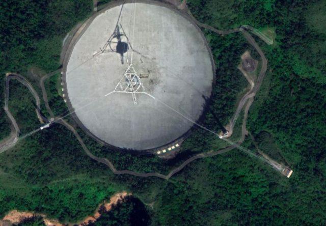 Porto-Rico va mettre 8 millions de dollars sur la table pour financer la reconstruction de l'Observatoire d'Arecibo