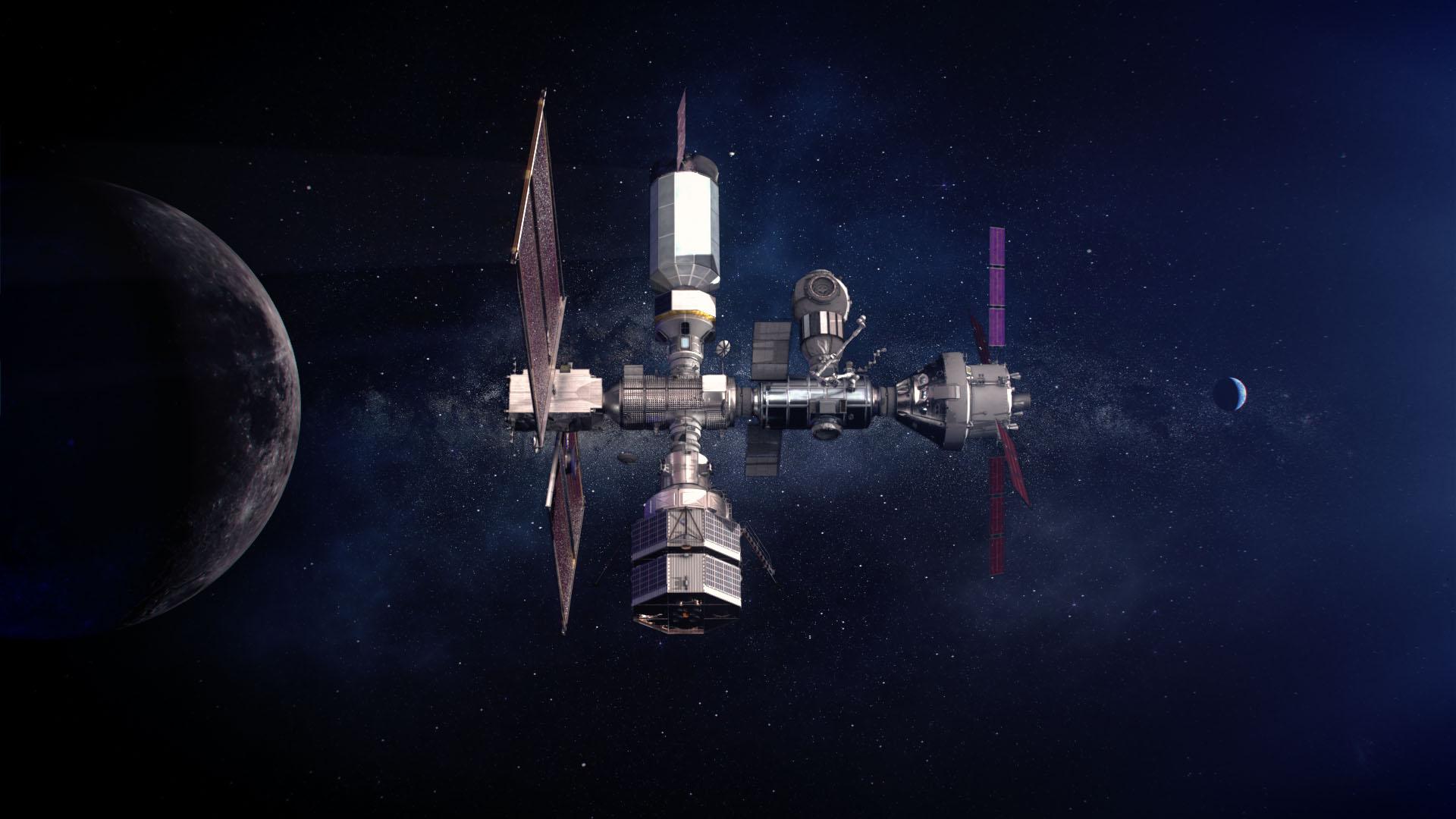 La future station lunaire sera en partie construite en France