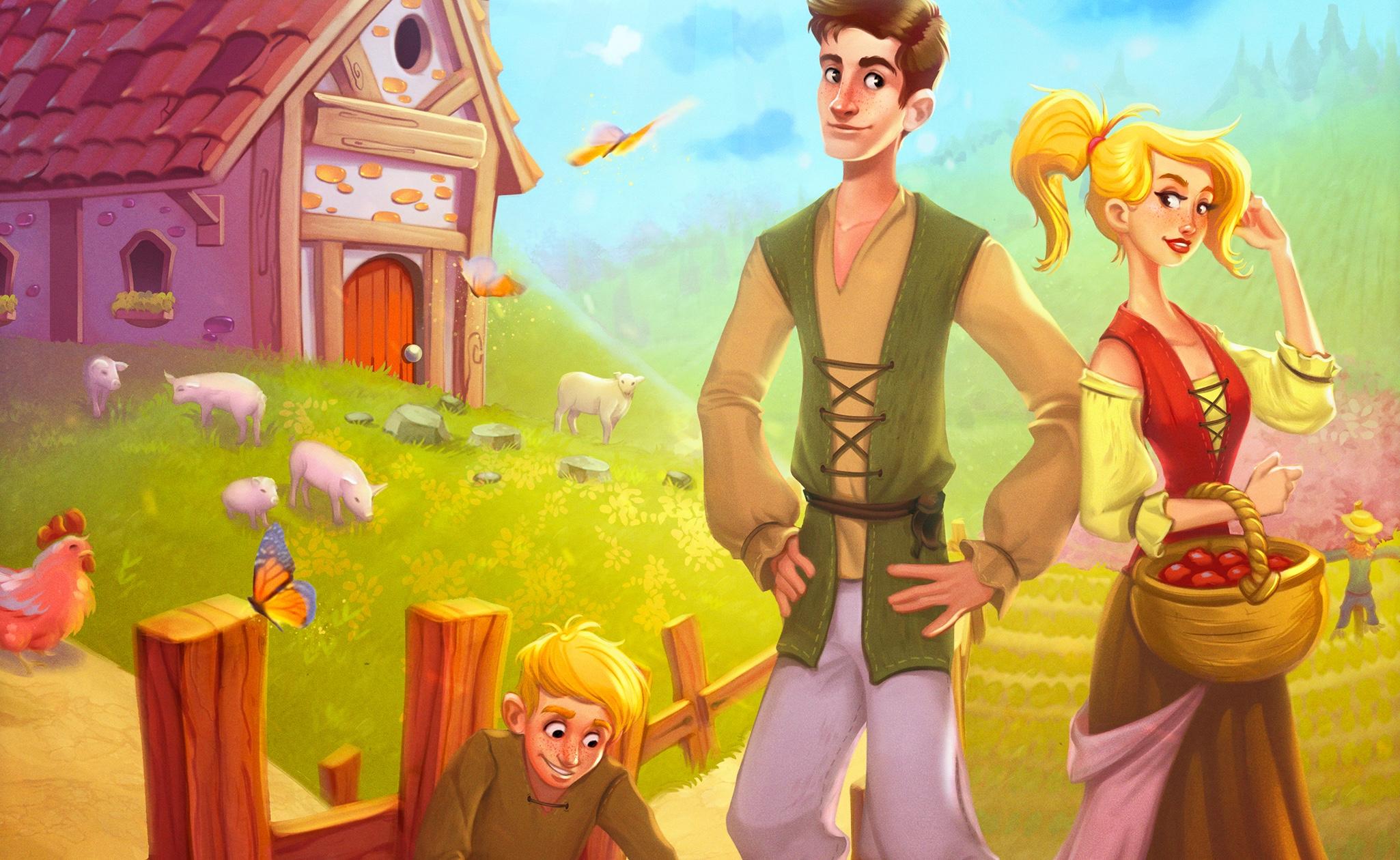 Agricola Famille: plus accessible que l'original, mais pas moins stratégique