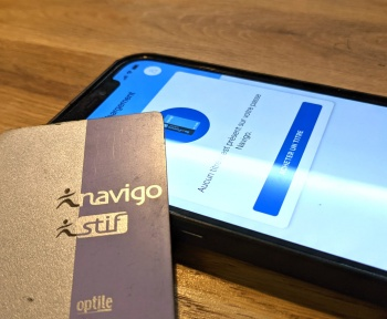 Comment recharger un passe Navigo avec un iPhone
