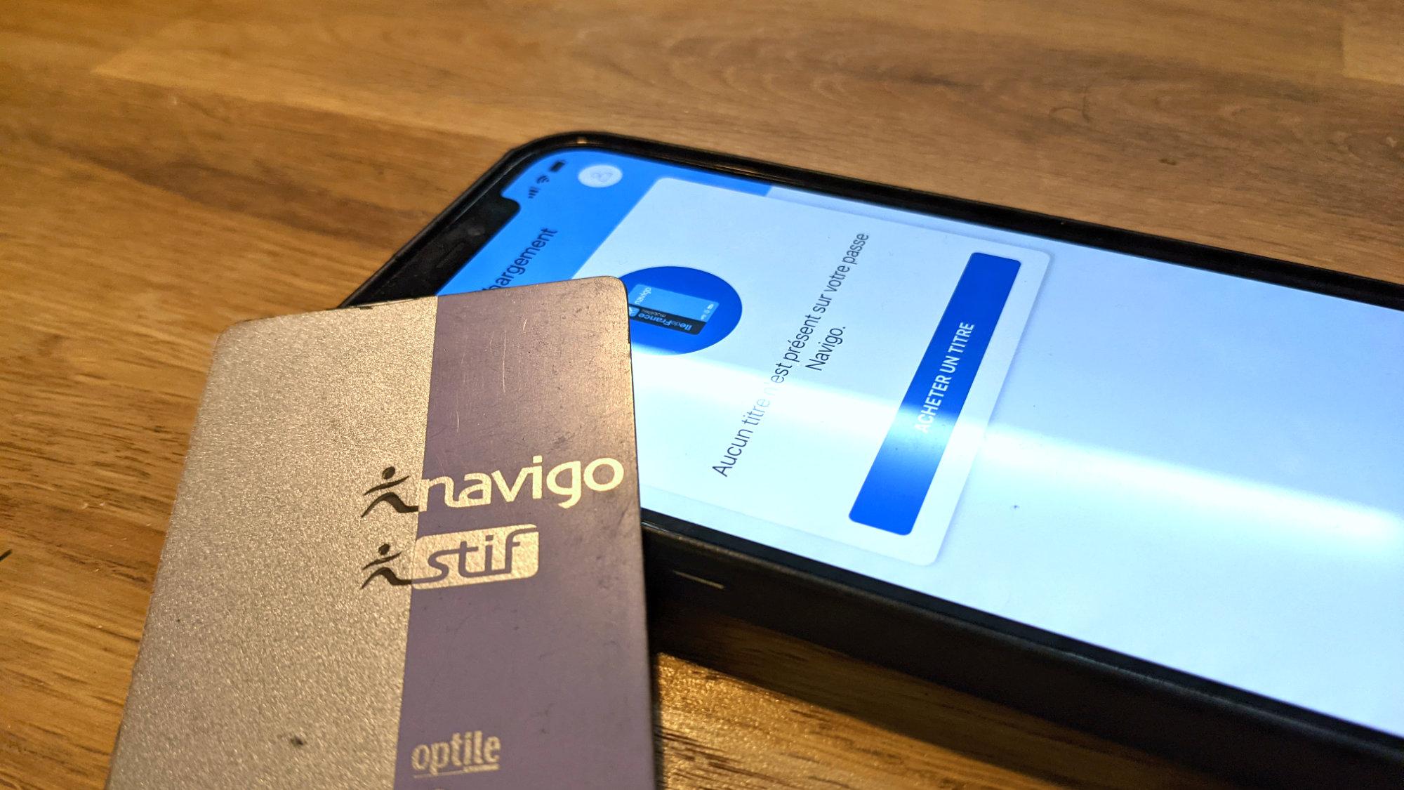 Comment recharger un passe Navigo avec un iPhone