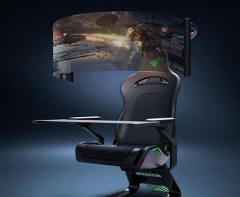 Projet Brooklyn, le fauteuil ultime pour les gamers selon Razer