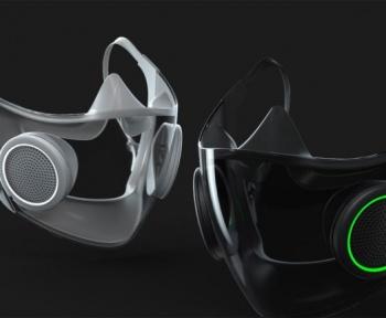 Tiens, Razer vient de présenter un masque transparent avec des LEDs