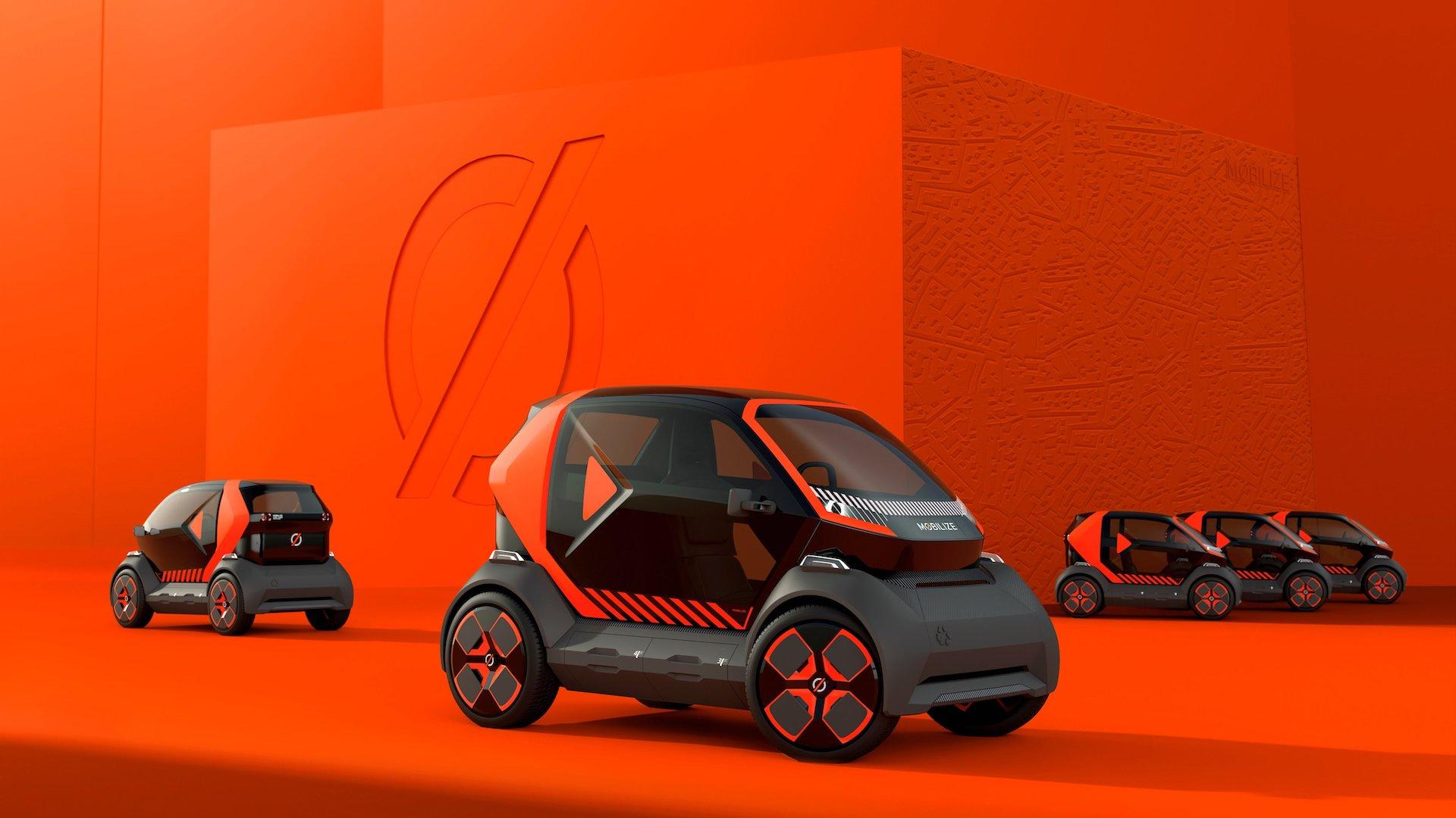 Renault dévoile un véhicule bi-place en autopartage, héritier de la Twizy