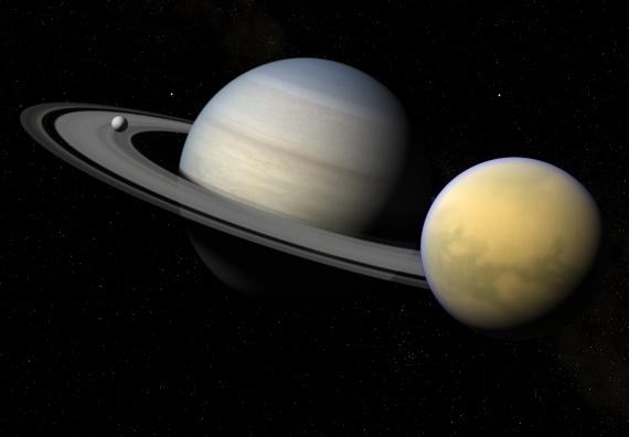 Pourquoi Saturne est-elle en train de basculer?