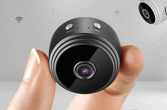 La mini caméra de sécurité Gocomma A9 Mini à 10 €