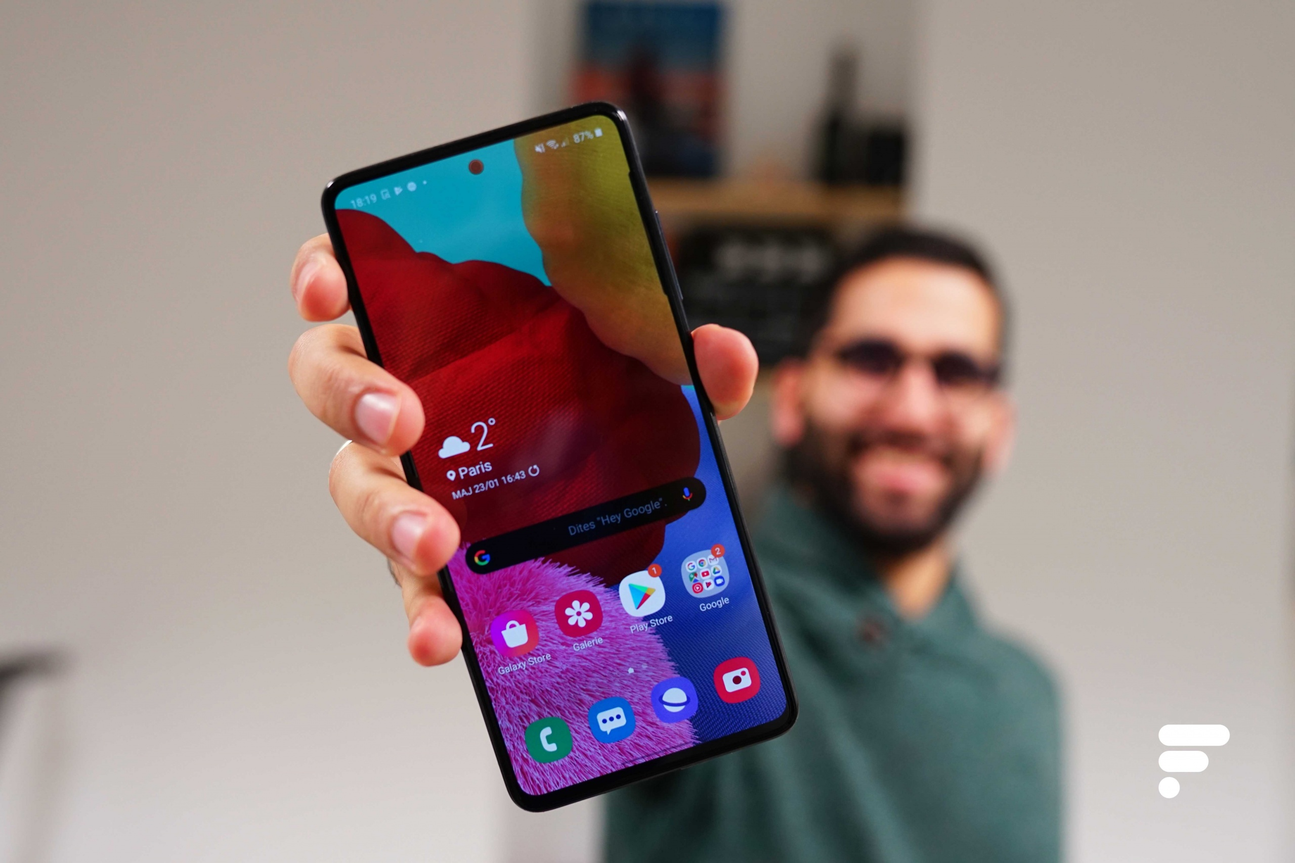 Samsung GalaxyA51: la mise à jour vers Android11 (One UI3) pointe le bout de son nez