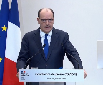 Covid-19: suivez la conférence de presse de Jean Castex à 18h