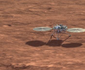Pourquoi l'activité d'InSight sur Mars va-t-elle être temporairement réduite?