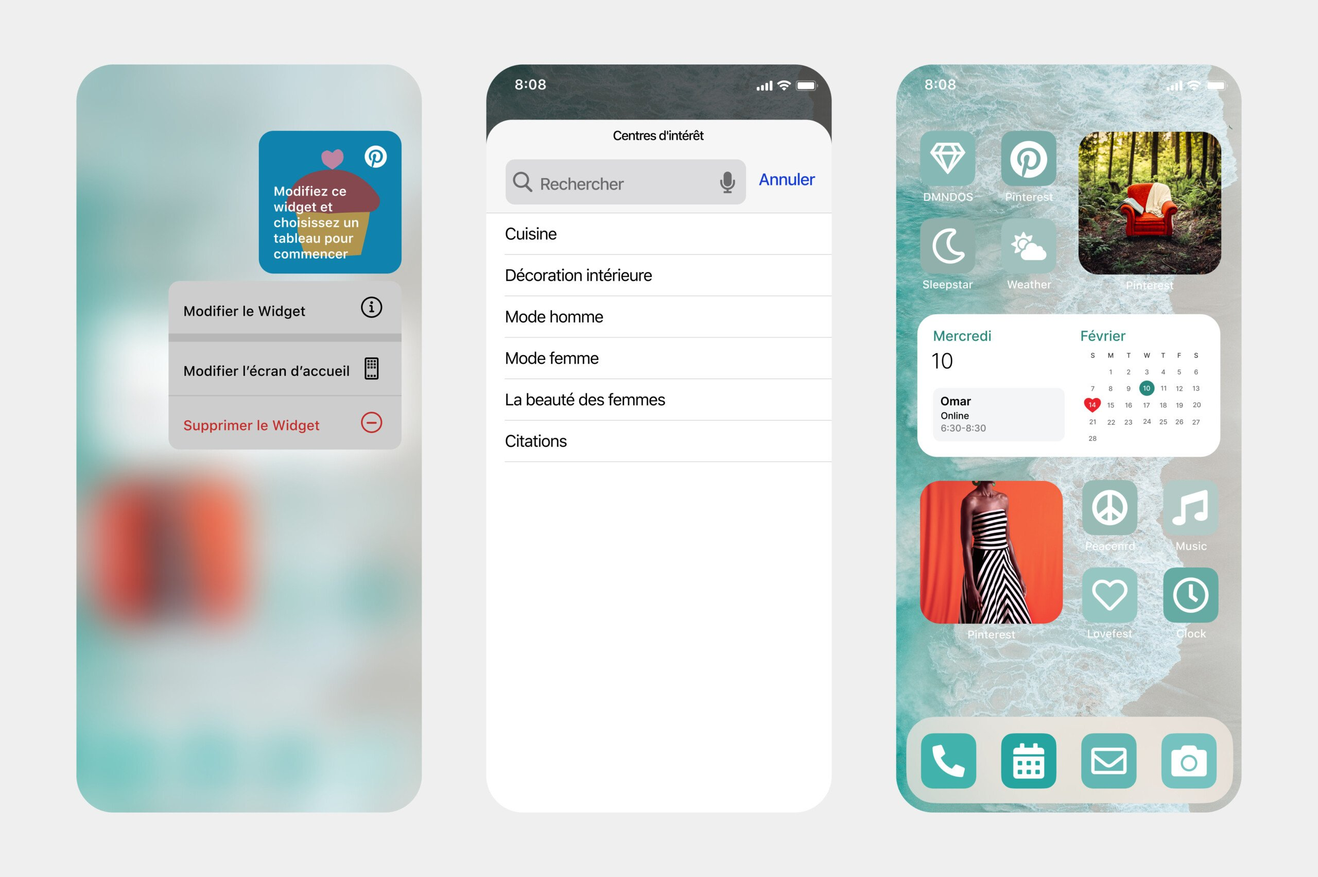 Interests : Pinterest s'offre un widget iOS14 qui cible mieux vos envies