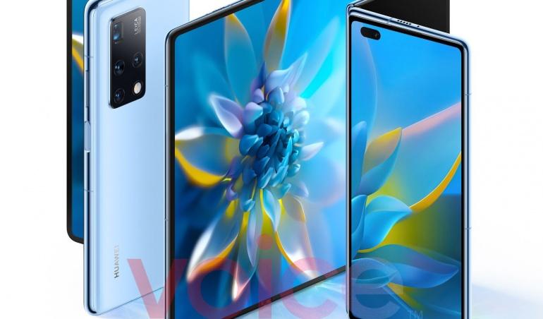 Huawei Mate X2 : comme un air de Galaxy Z Fold 2 dans ces images en fuite