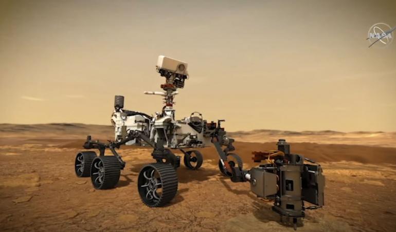 Espace : non la vidéo de Mars n'a pas été filmée par Perseverance