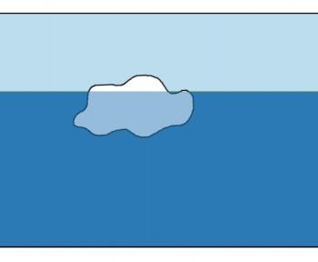 Dessinez des icebergs dans ce simulateur pour comprendre comment ils flottent