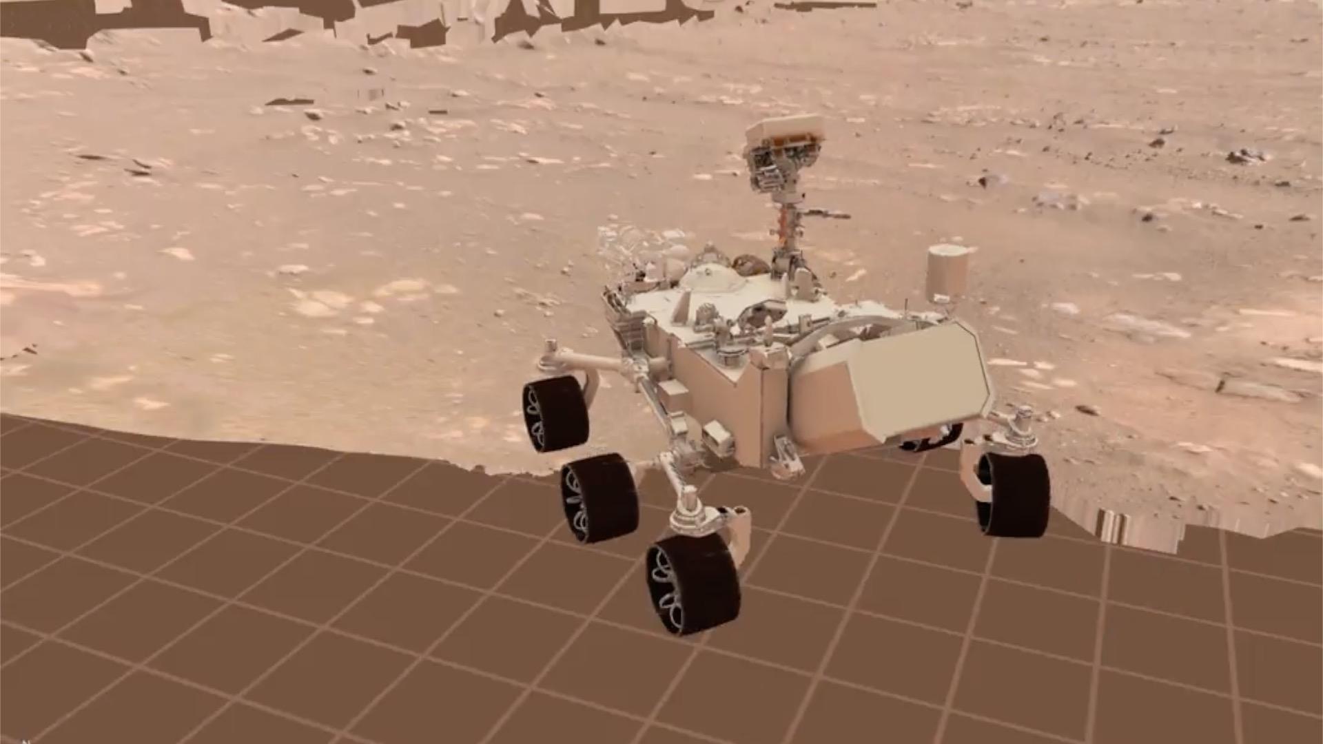 Perseverance a roulé sur Mars: à quoi ressemble son premier trajet?
