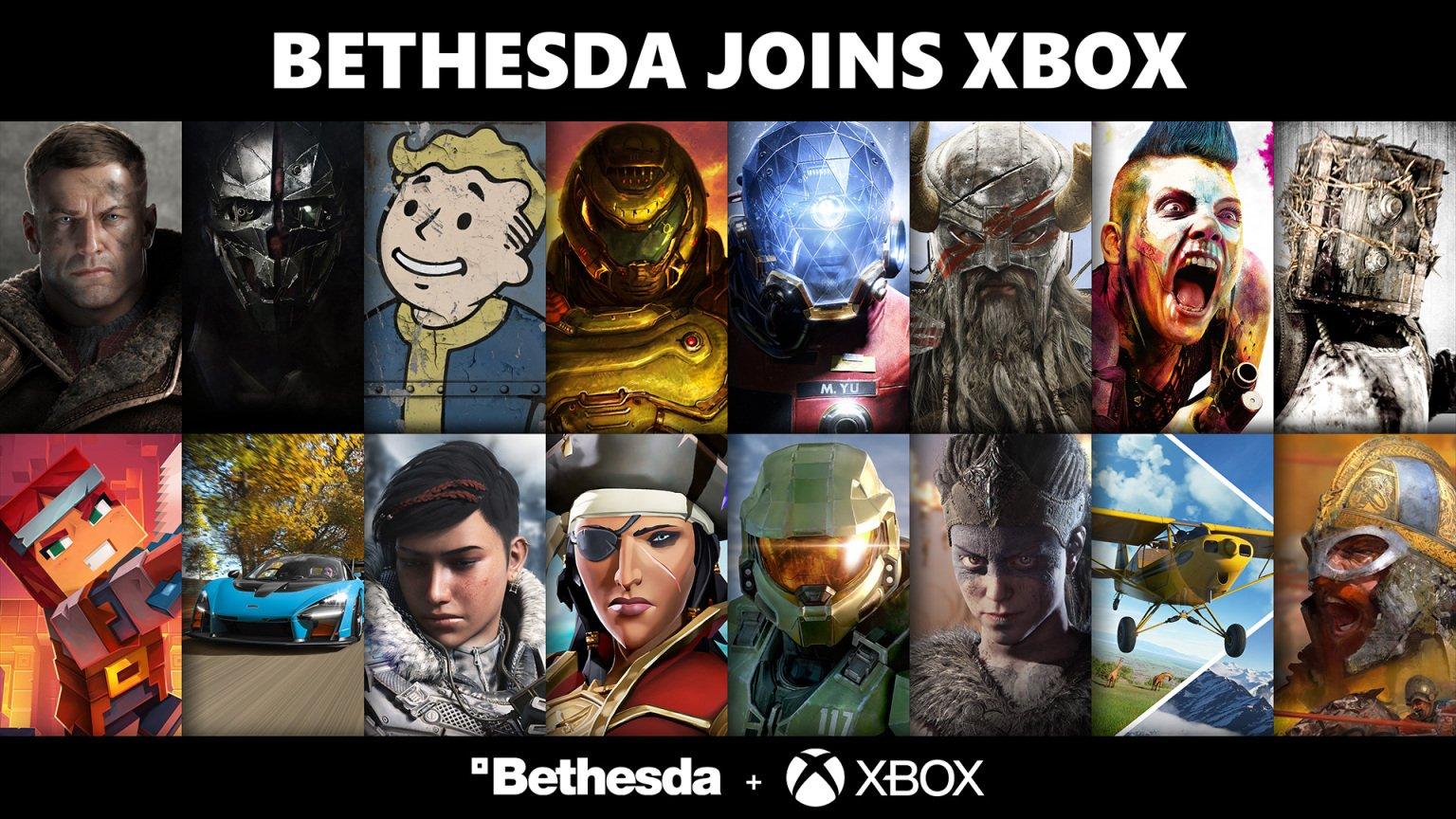 Zenimax Media (Bethesda) intègre Microsoft : plus de jeux seront exclusifs Xbox