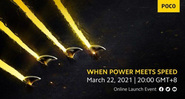 Poco prépare quelque chose pour le 22 mars, le Poco F3 et le Poco X3 Pro pressentis