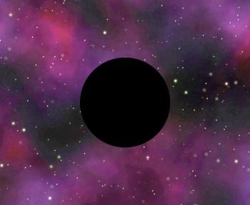 Au lieu de rester sagement au milieu de sa galaxie, ce trou noir s'y promène à toute vitesse