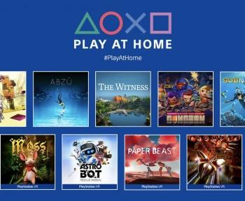 Play At Home: 10 nouveaux jeux PS4 et PSVR offerts