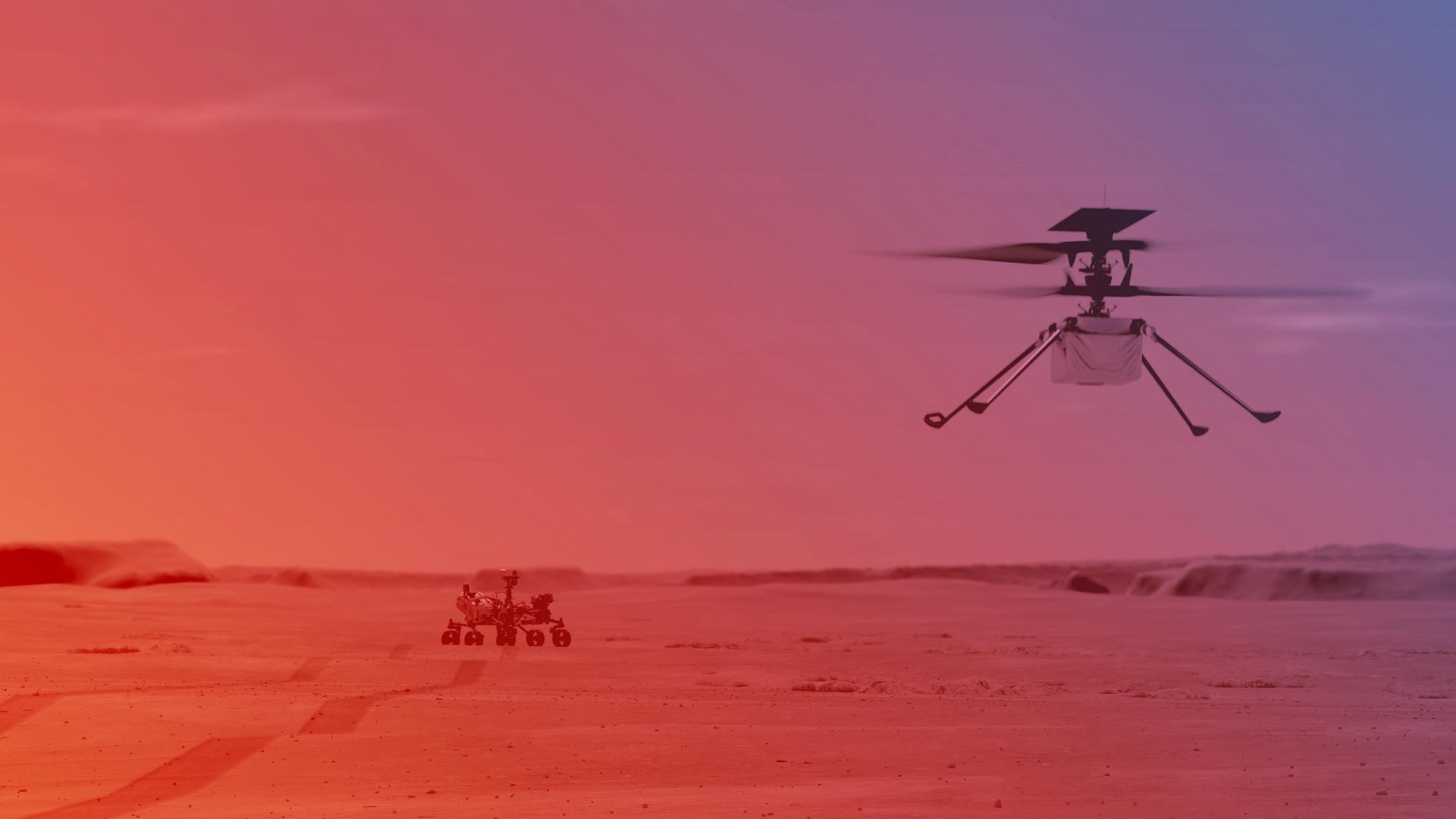 Ingenuity: comment suivre les annonces de la Nasa sur le premier vol de l'hélicoptère martien