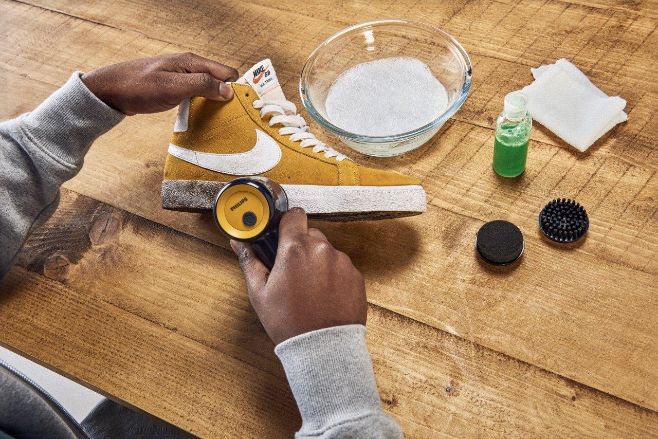 Philips lance un kit de nettoyage pour sneakers