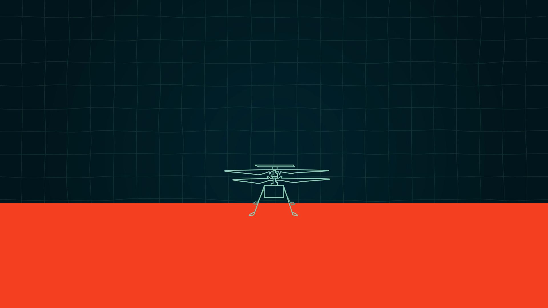 Un morceau de l'histoire de l'aviation se cache sur l'hélico martien Ingenuity