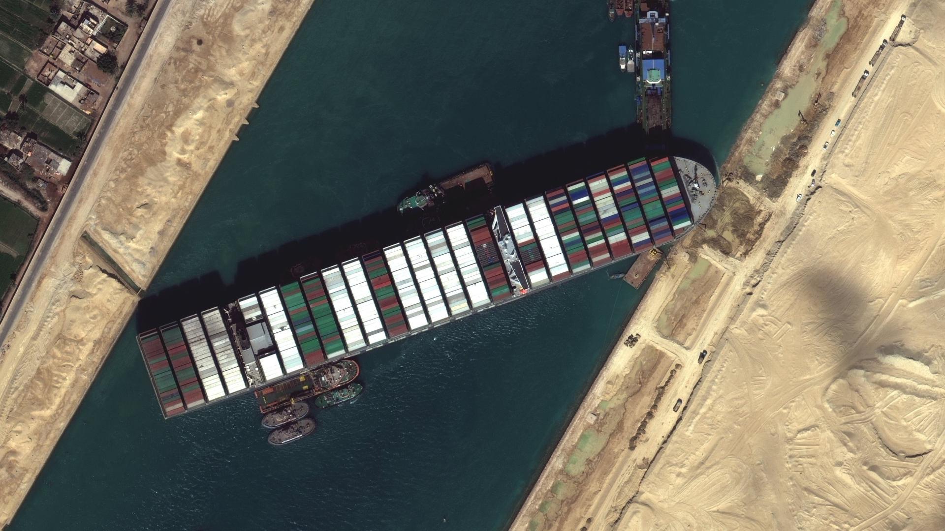 Vous pouvez vous aussi échouer un bateau dans le canal de Suez grâce à ce mini-jeu