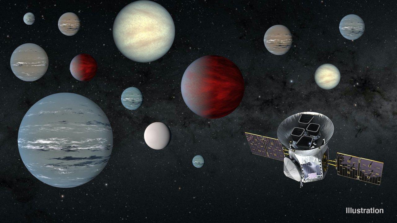 Le télescope spatial TESS a découvert plus de 2.000 planètes