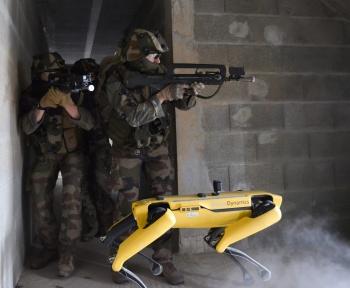 Les robots de Boston Dynamics se sont entraînés avec l'armée française