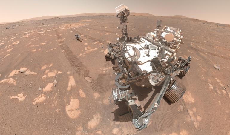 Ingenuity: comment suivre les annonces de la Nasa après le premier vol de l'hélico martien