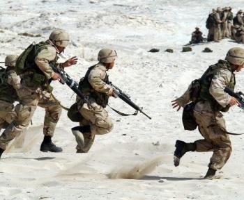 L'Armée française teste des robots terrestres