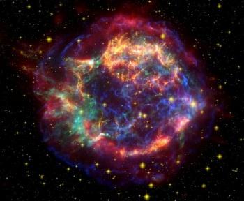 La Terre voyage dans les débris d'une supernova