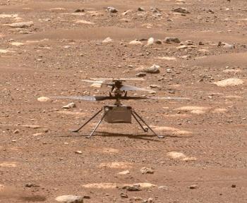 Ingenuity: la Nasa accorde 30 jours supplémentaires à l'hélico pour voler sur Mars