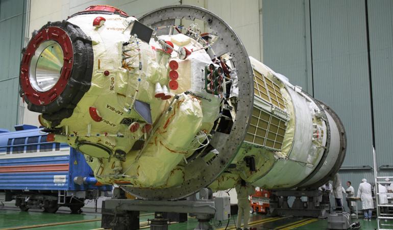 Comment revoir le lancement du nouveau laboratoire russe vers l'ISS