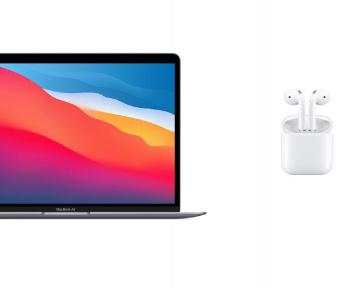 Ce pack regroupant un MacBook Air M1 et des AirPods 2 est un vrai bon deal de rentrée