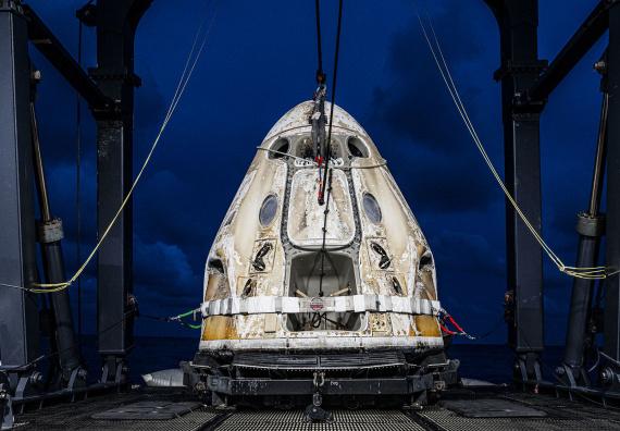 La mission Inspiration4 est finie : les prochains touristes dans l'espace, c'est pour quand ?