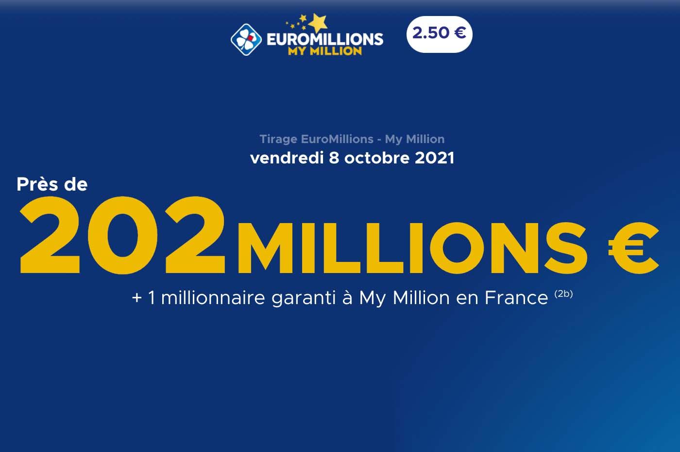 Tirage EuroMillions: comment jouer et gagner 202 millions d'euros? 🔥