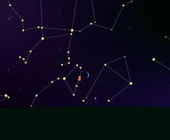 Ne manquez pas le rapprochement de la Lune et Vénus ce samedi 9 octobre